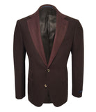 Maroon Wool Sport Jacket
