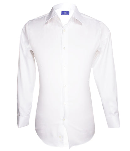 White Striped Shirt, Size 39