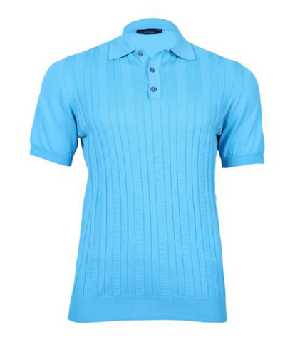 Turquoise Polo Knitwear