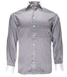 Luxury Striped Silk Shirt