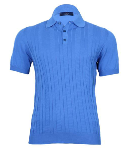Blue Polo Knitwear