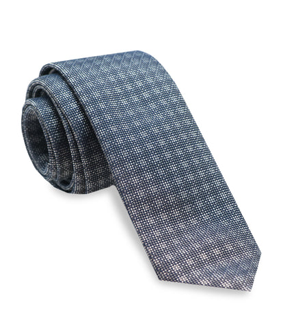 Bluette Patterned Silk Tie