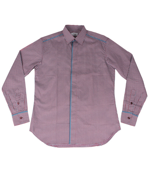 Shirt With Piping, Size S