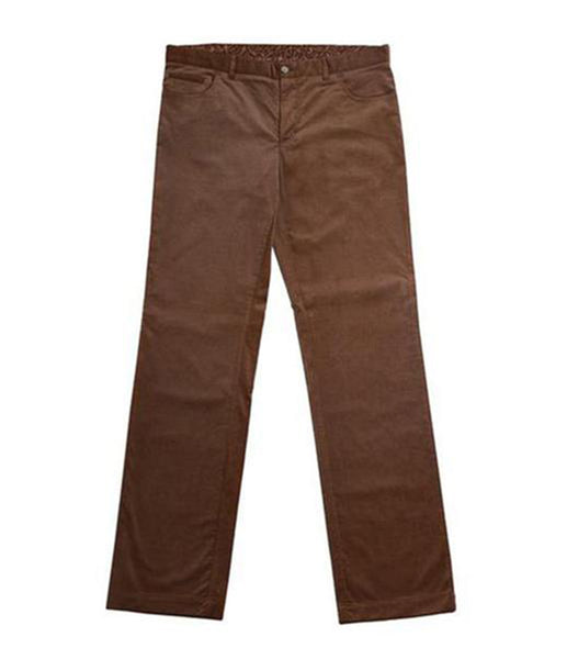 Brown Velvety Chinos