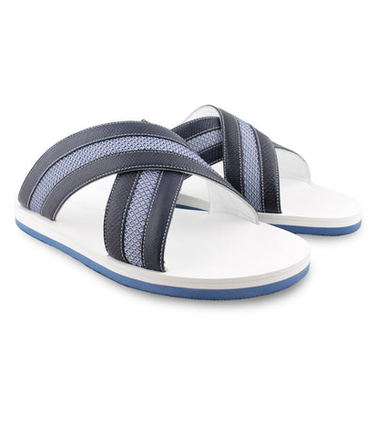 Marine Blue Karung Sandals