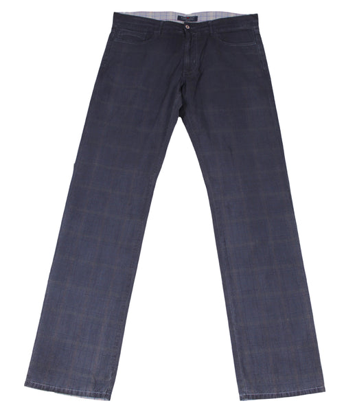 Concept Checked Pants, Size 54