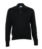 Black Wool Sweater, Size S