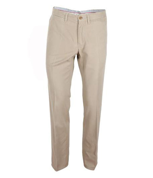 Beige Pants Leather Inserts