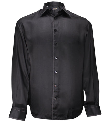 Black Silk Shirt Dixie