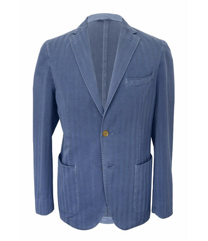 Blue Striped Sport Jacket