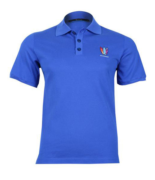 Blue Jersey Polo Shirt