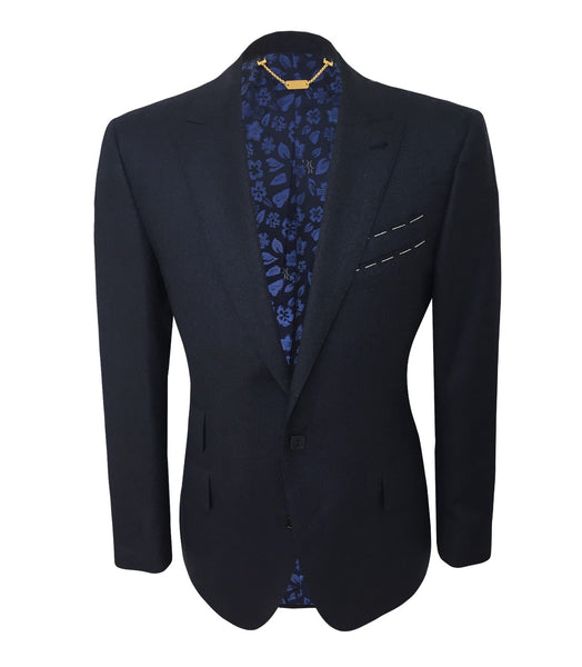 Dark Blue Wool Jacket