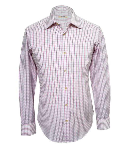 Sartoriale Pink Checked Shirt