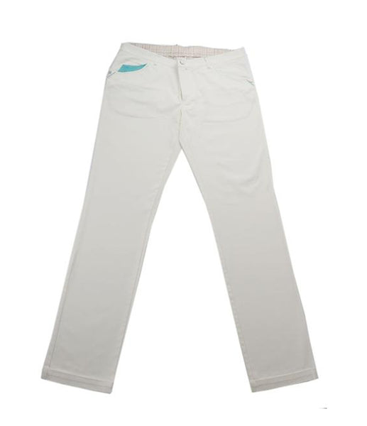 Cream White Jeans, Size 56