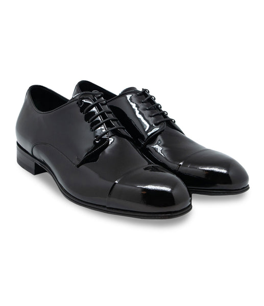 Glossy Derby Shoes