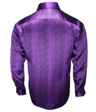 Purple Silk Shirt