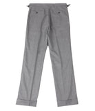 Light Grey Wool Pants, Size 48