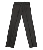 Black Wool 130'S Pants