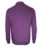 Cashmere Silk Polo Sweater