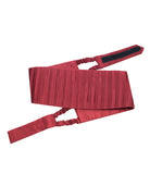 Ruby Red Cummerbund Set