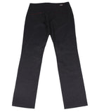 Dark Blue Pants Suede Inserts