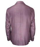 Maroon Grey Sport Jacket