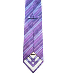 Striped Silk Tie Set