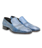 Perforated Kangaroo Loafers