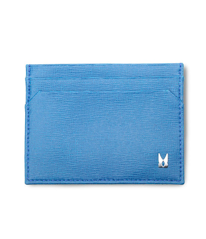 Royal Blue Calf Card Holder