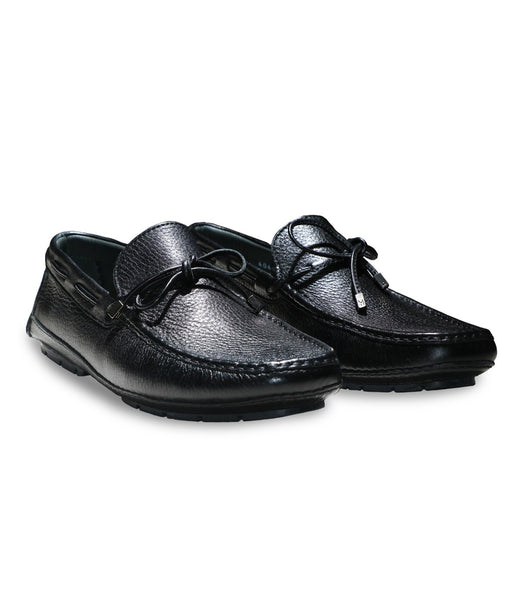 Deerskin Black Driver Shoes