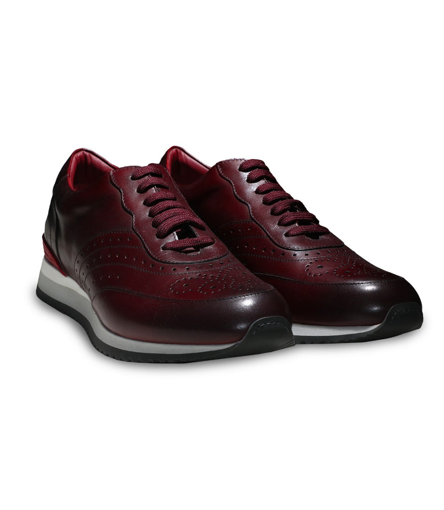 Burgundy Leather – outtlet