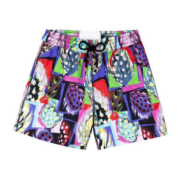 Patterned Swimming Shorts