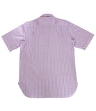 Striped Silk Shirt Short Sleeve