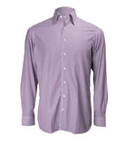 Purple Striped Formal Shirt