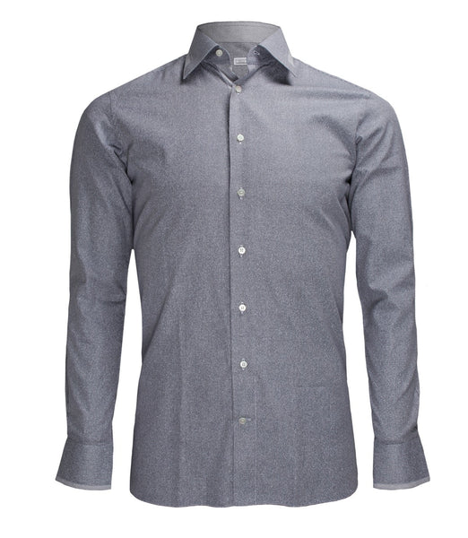 Grey Patterned Shirt, Size 40