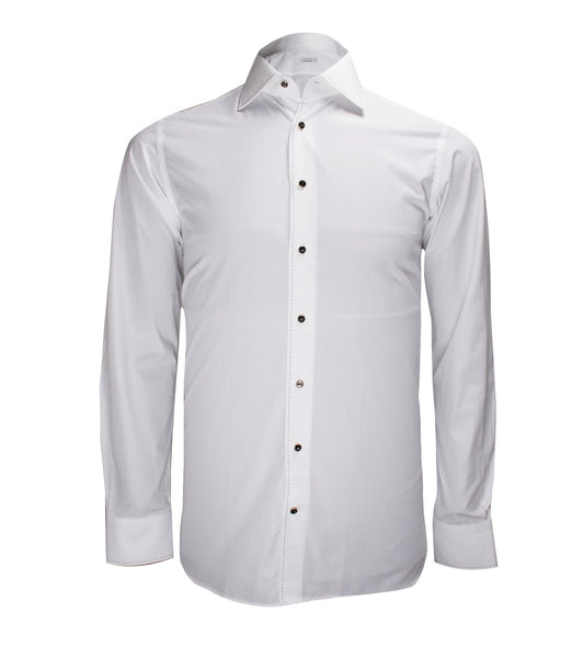 White Formal Shirt, Size 40