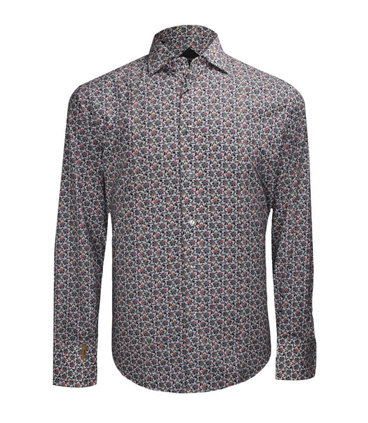 Floral Shirt Paris, Size 42