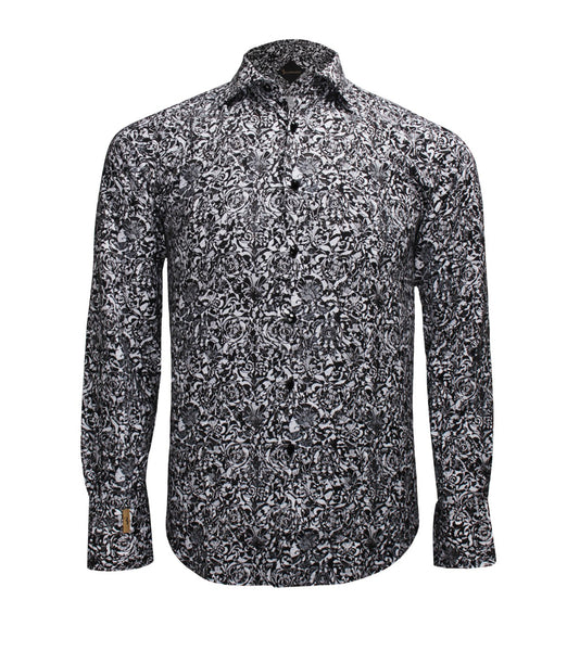 Black Patterned Shirt Paris