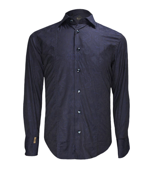 Dark Blue Shirt Paris