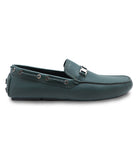 Dark Green Moccasins