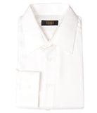 White Silk Shirt Jacquard
