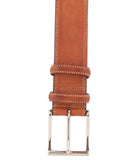 Brown Perforated Belt, Size 115