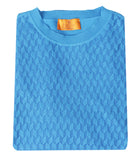 Blue Crew-neck Knitwear