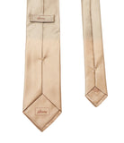 Yellow Solid Silk Tie Set