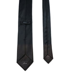 Black Grey Silk Tie Set