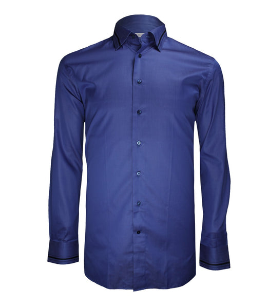 Blue Dress Shirt, Size 44