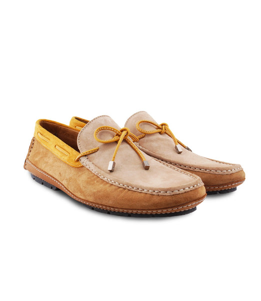 Suede Driver Moccasins