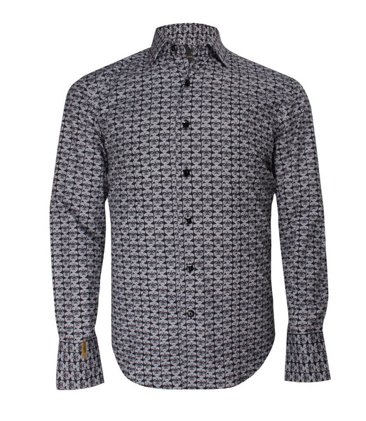 Patterned Shirt Paris Roma