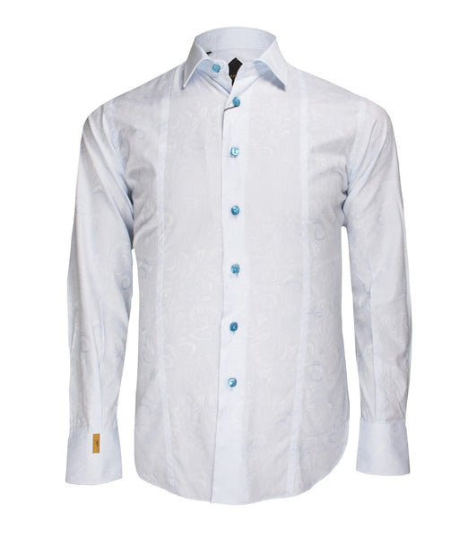 Soft Blue Shirt Wall Street