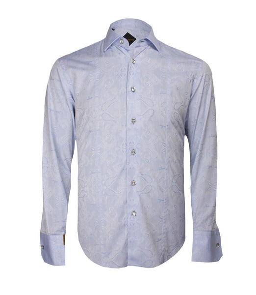 Sky Blue Shirt Paris